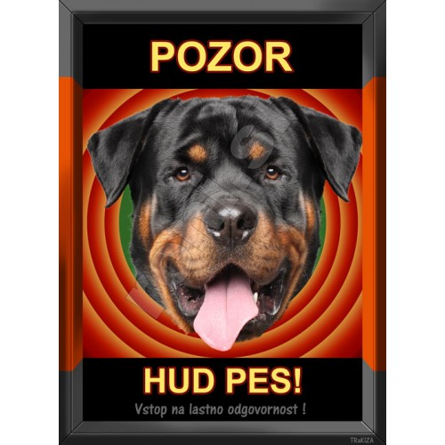 Rottweiler pasje table